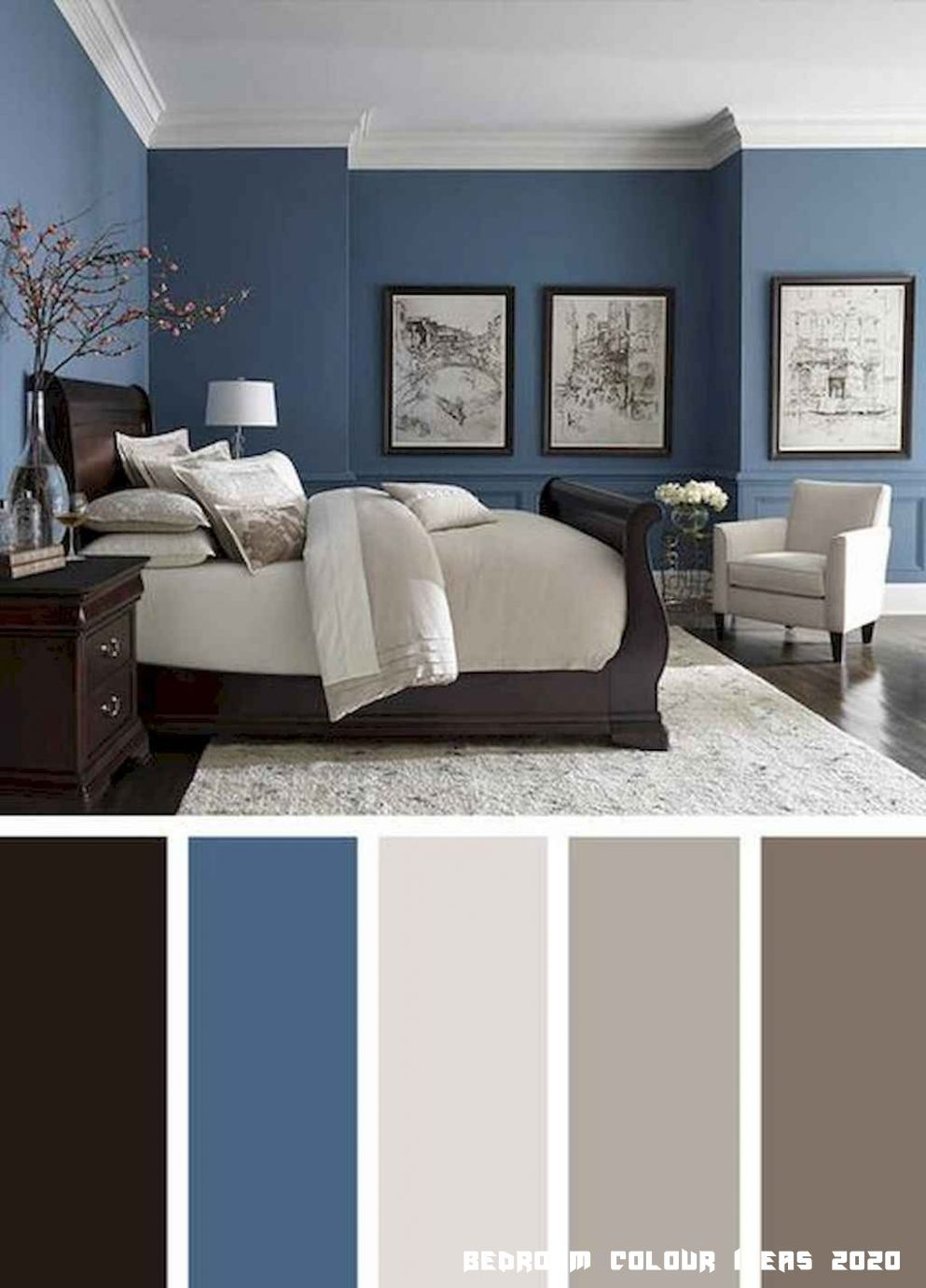 12 Bedroom Colour Ideas 2020 In 2020 Beautiful Bedroom Colors Best Bedroom Colors Master Bedroom Colors