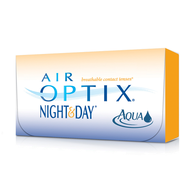 AIR OPTIX® NIGHT & DAY® AQUA Contact Lenses Aqua e Contatos