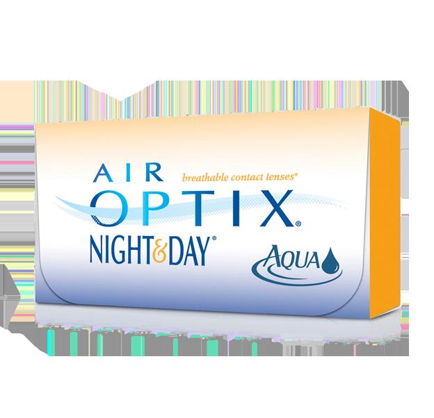 AIR OPTIX® NIGHT & DAY® AQUA Contact Lenses Aqua e Contatos