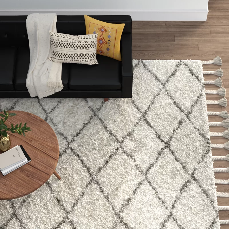 Dark Gray Area Rug