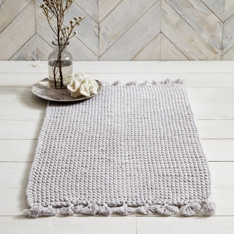 Toulouse Handmade Bath Mat Bath Mats The White Company Uk