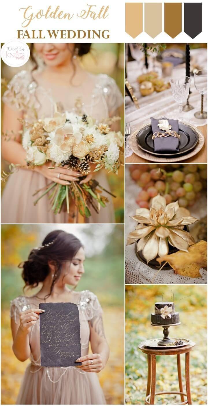 Golden Fall Wedding Inspiration