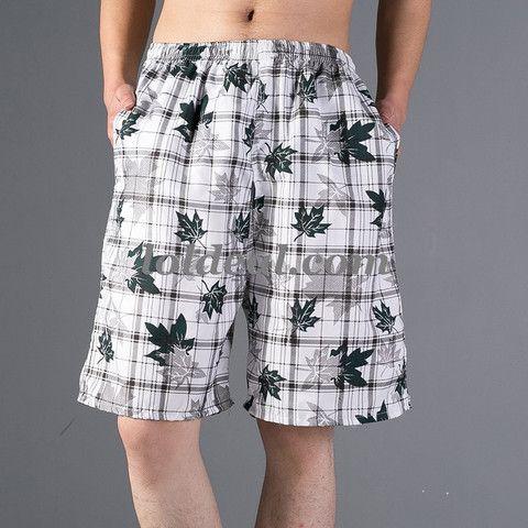 Mens Bermuda style beach printing Shorts