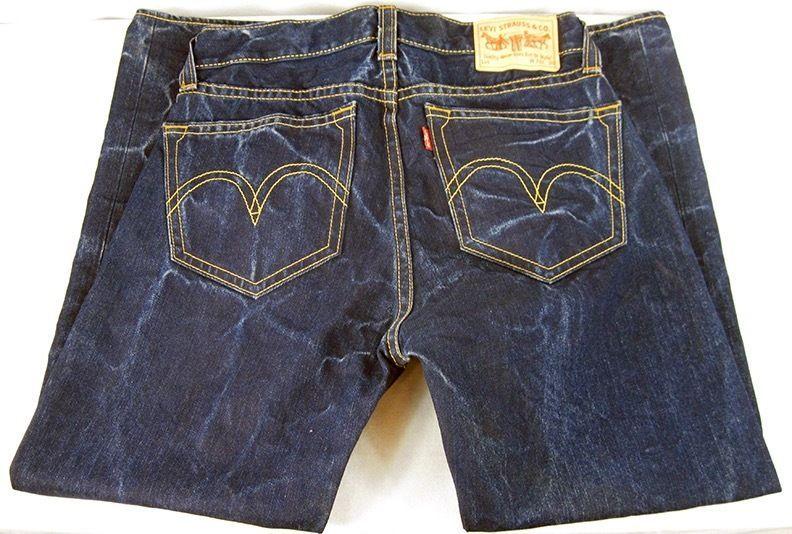 Levi's Indigo Medium Blue Denim Real Loose Type 1 Jeans Pants Men's Size 33/30 #Levis #BaggyLoose