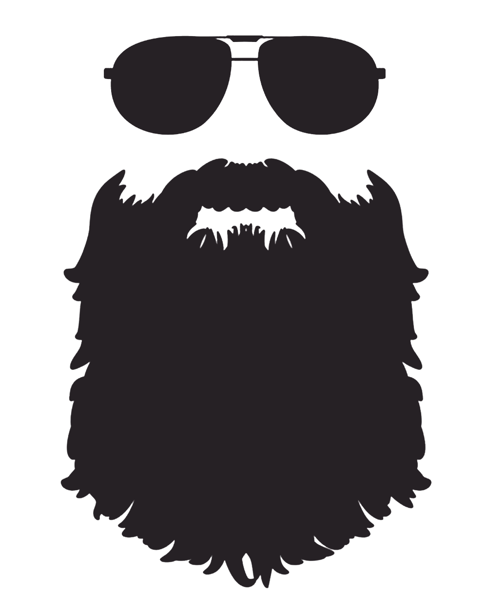 Silhouette Beard Free Clipart Hq Beard Silhouette Beard Stickers Beard Art