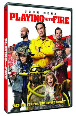 Dvd Blu Ray Playing With Fire 2019 Starring John Cena And Keegan Michael Key John Cena Fire Movie Michael Key