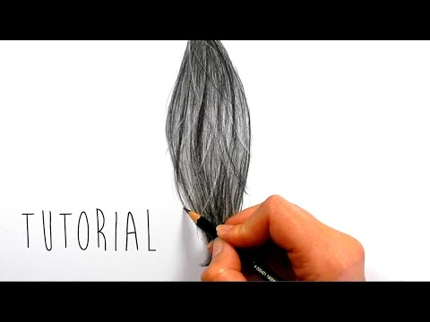 Tutorial How To Draw Shade Realistic Hair With Graphite Pencils Emmy Kalia Youtube In 2020 Drawing Hair Tutorial How To Draw Hair Realistic Drawings