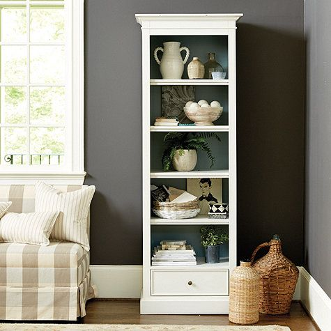 With Its Tall Narrow Profile Our Bennett Bookcase Fits Spaces Where Traditional Bookcases Can