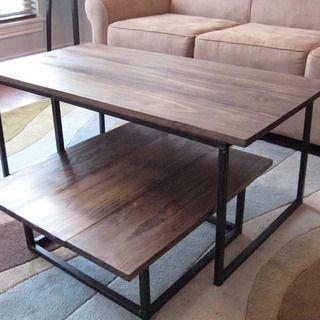 Diy 2 Tier Coffee Table Coffee Table Wood Diy Coffee Table