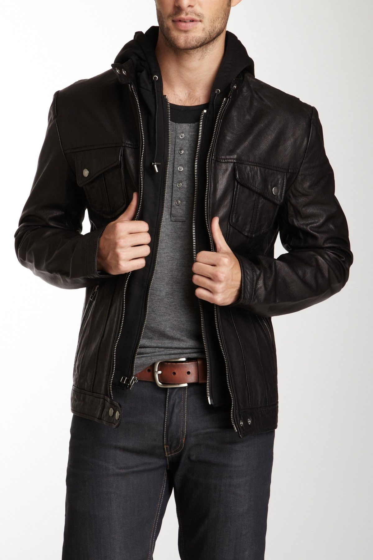 Leather jacket los angeles