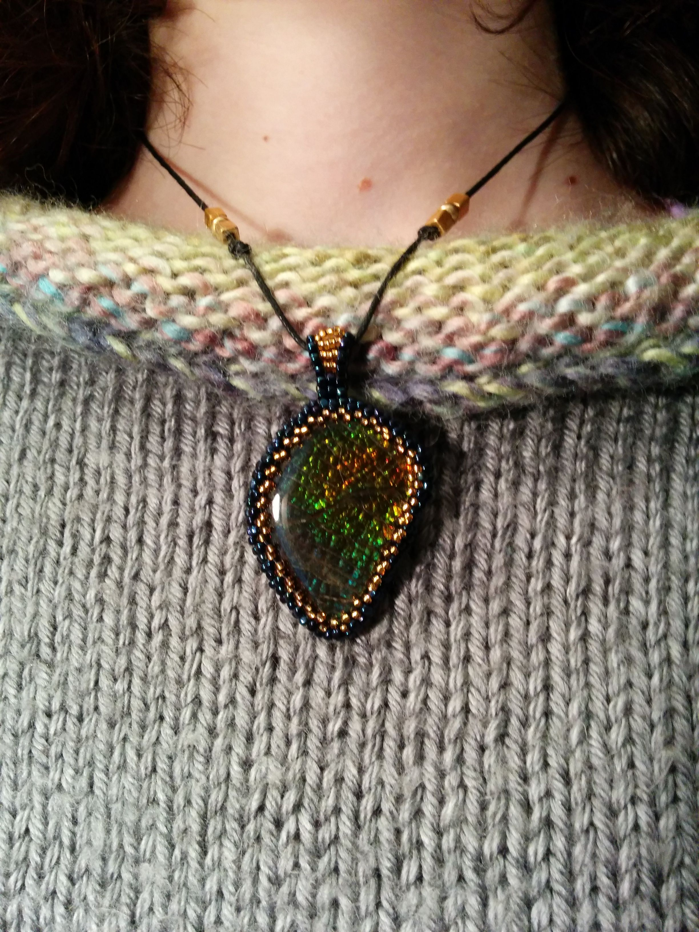 Ammolite pendant for Lilo