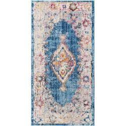 Photo of benuta Läufer für Flur Tara Beige/Blau 70×240 cm benuta
