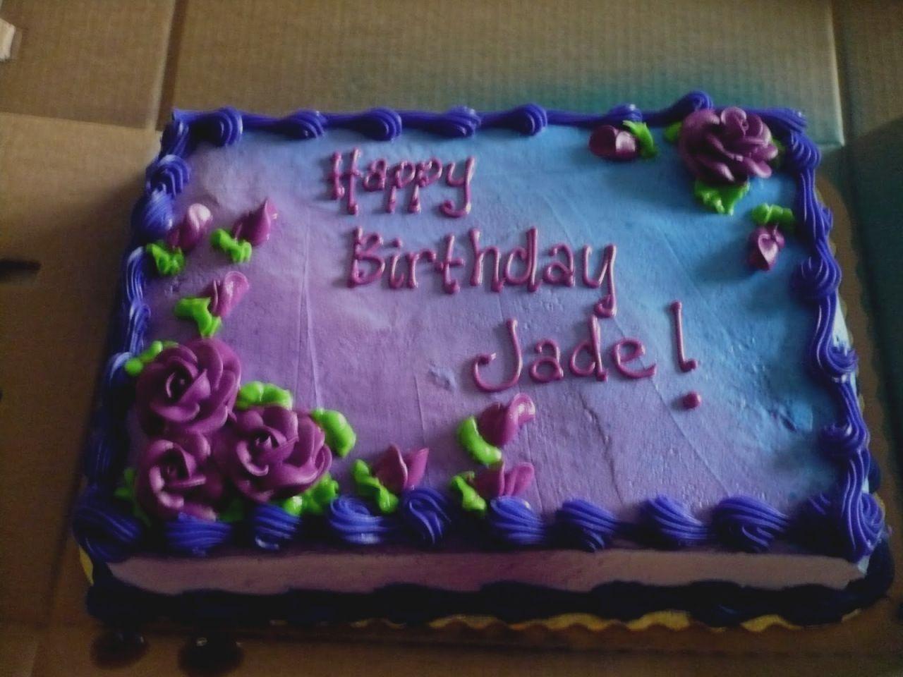 Astonishing Hyvee Birthday Cakes Funny Birthday Cards Online Fluifree Goldxyz