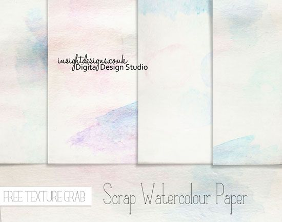 Scrap Watercolour Paper Free Texture Grab Insight Designs Free
