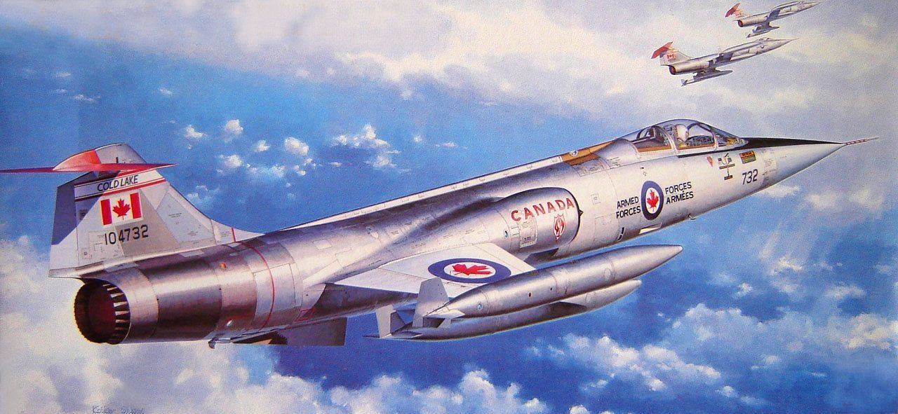 Lockheed CF-104 Starfighter Canadian Armed Forces (Shigeo Koike)