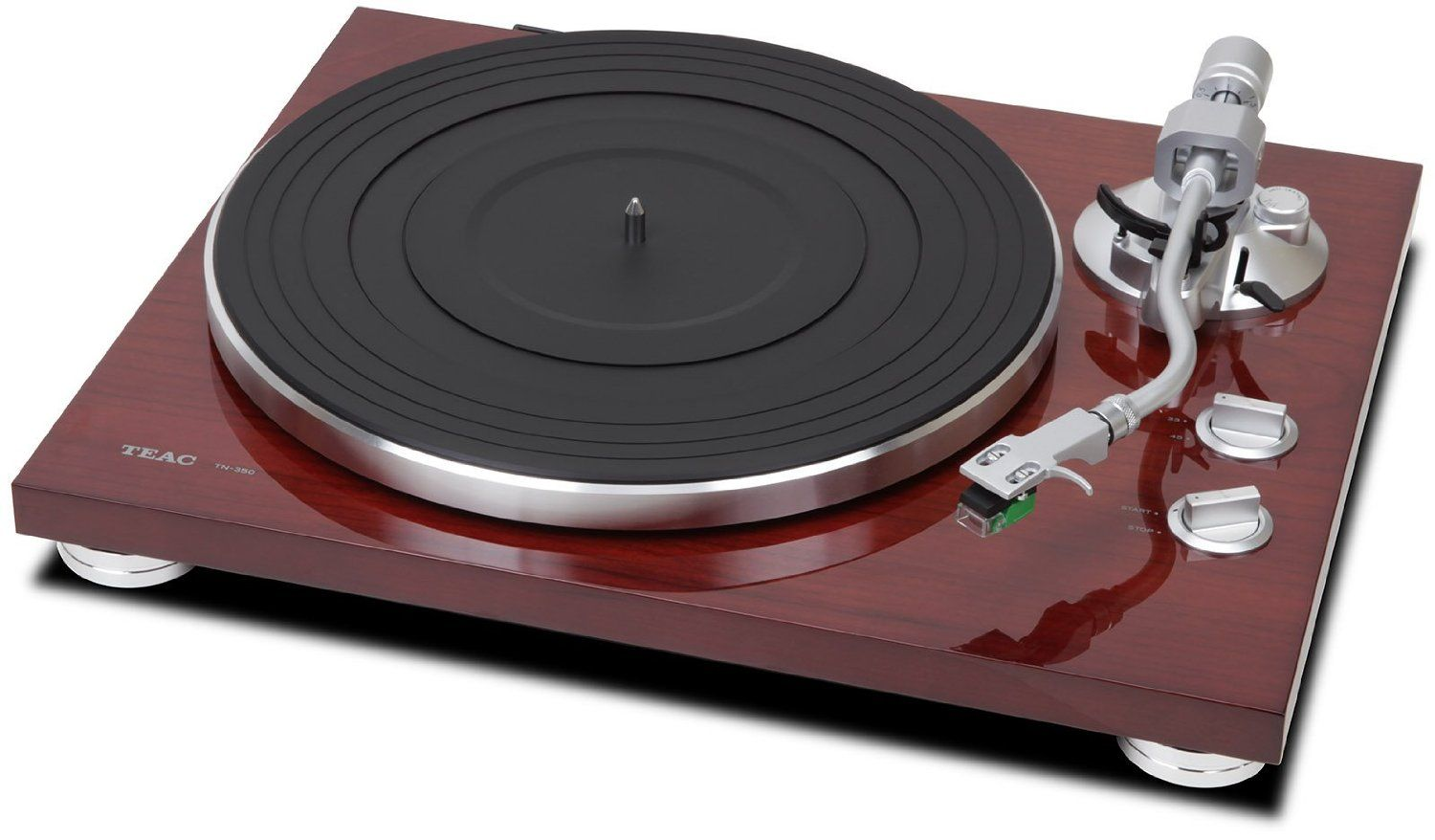 Teac Tn 350 With Cherry Finish Also Available In Black