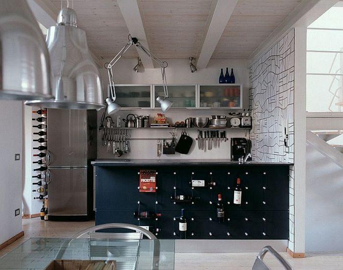 100 Kücheneinrichtung Beispiele Mit Industriellem Look #farbgestaltung # Innenruume #dachschragen #offene #chen