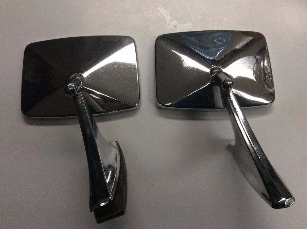 VINTAGE REAR VIEW SIDE MIRROR 9826594 CBC MOUNTING BASE - MATCHING ...