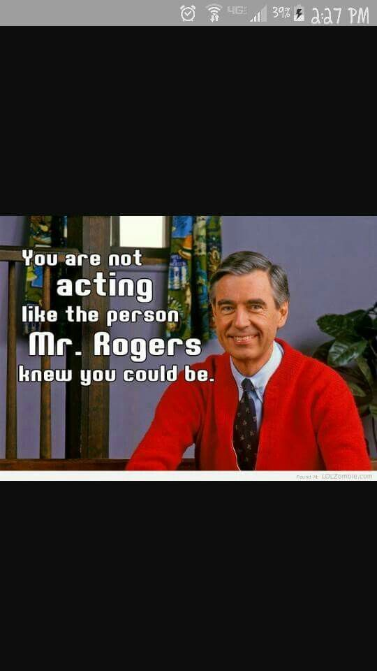 Mr Rogers Guilt How To Memorize Things Mr Rogers Make Me Laugh