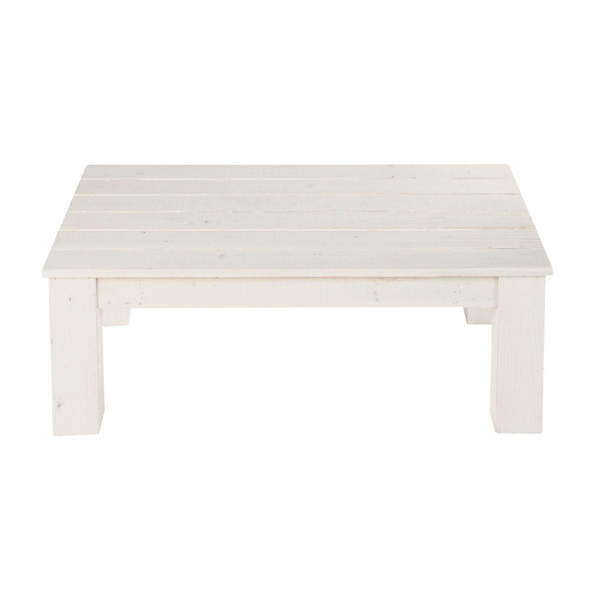 Table basse de jardin blanche FARO