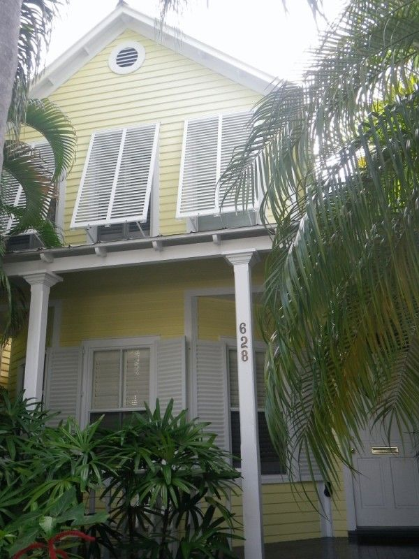Key West House Colors Are Awesome With Bahamas Shutters