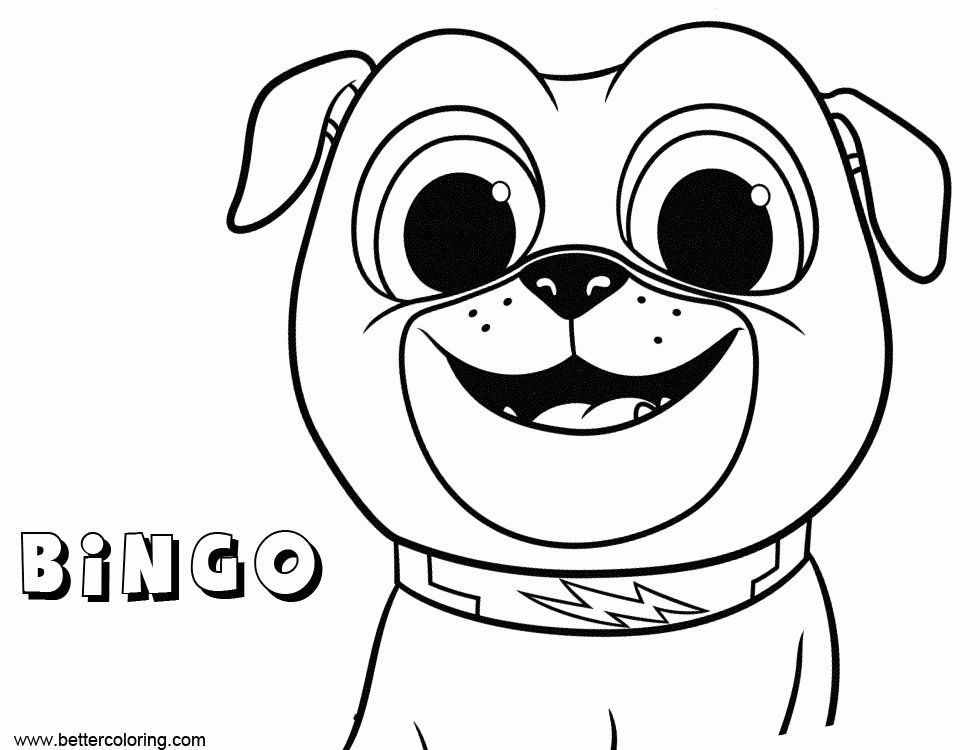 Puppy Dog Pals Coloring Page Fresh Bingo From Puppy Dog Pals Coloring Pages Free Printable