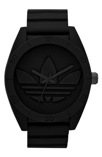 lowest price bab89 e5485 adidas Originals  Santiago XL  Silicone Strap Watch available at  Nordstrom