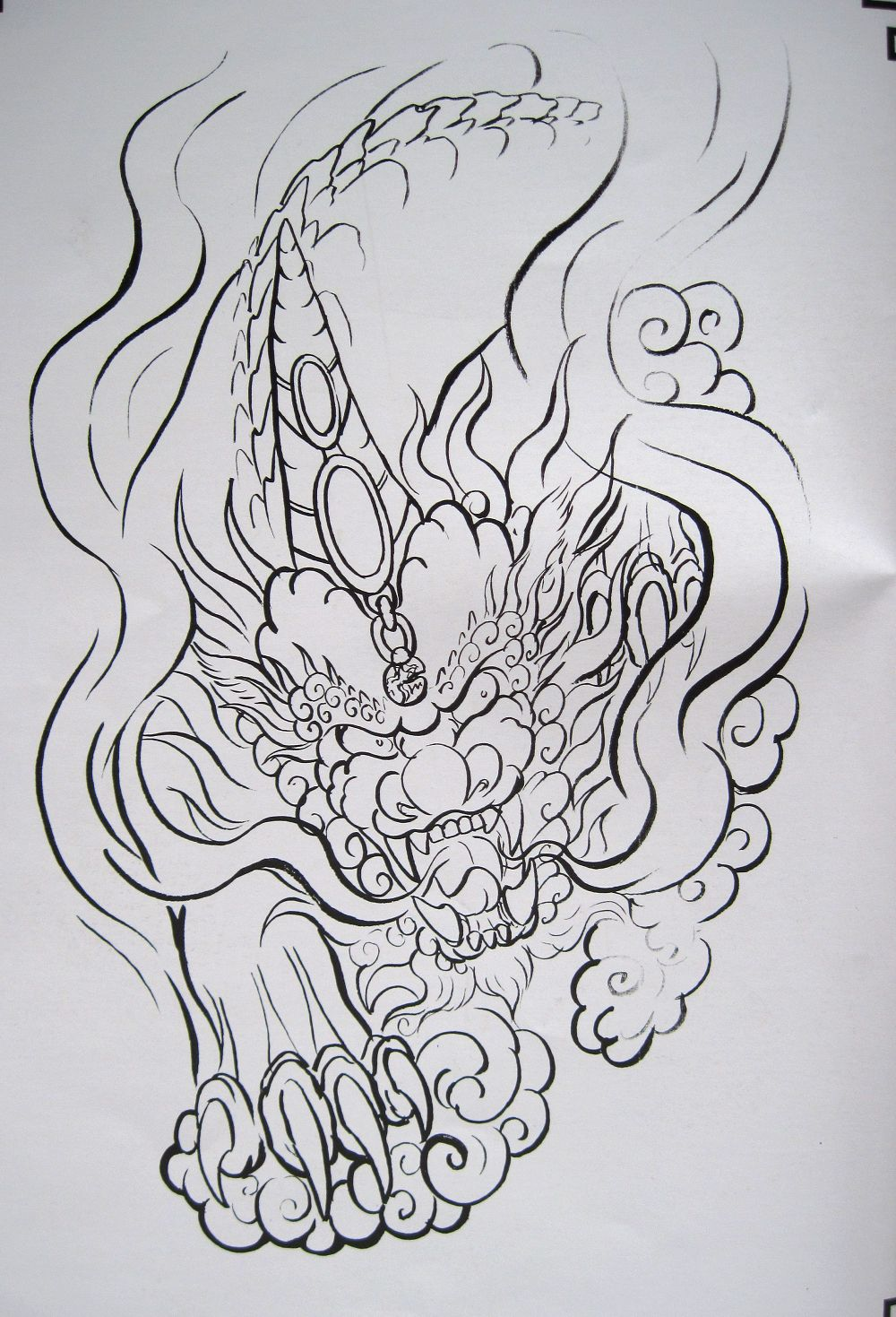 Pdf format tattoo book 79 pages various beautiful dragon