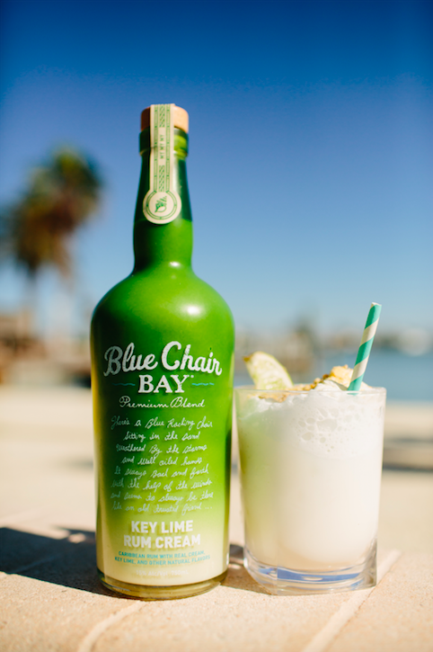 blue chair bay banana rum cream calories lipper childrens walnut rectangle table and 4 chairs key lime colada 1 oz 5 coconut pineapple juice orange of