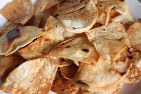 From Scratch: Homemade Corn Tortilla Chips!