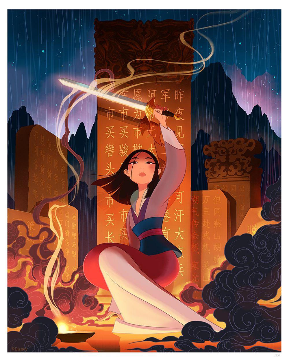 Mulan : une exposition pour fêter les 20 ans du classique animé de Disney