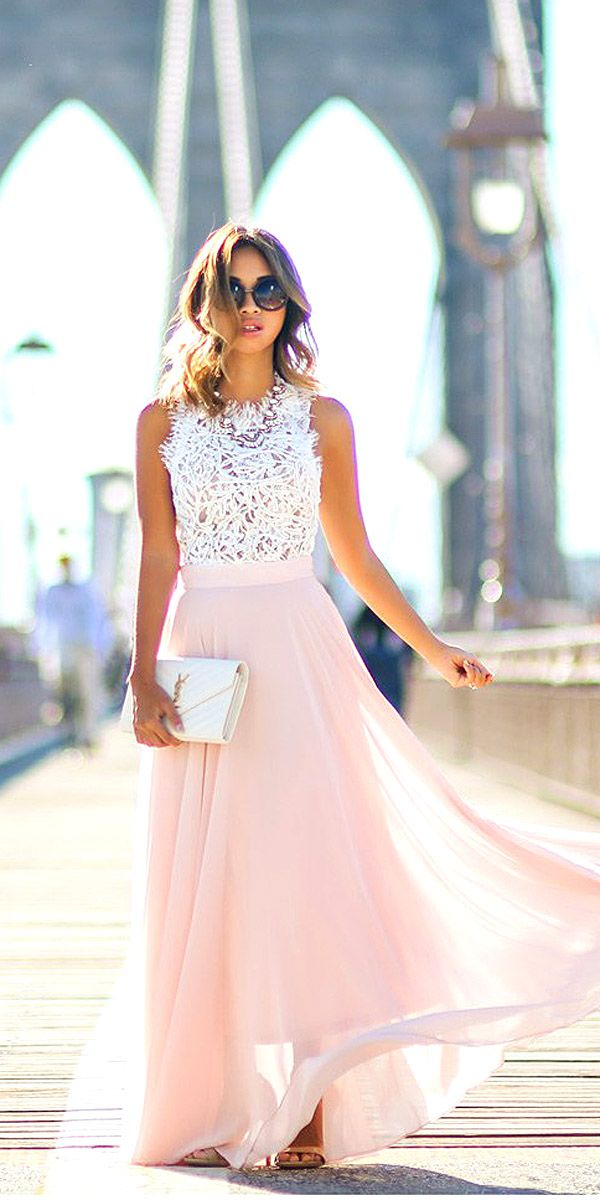 27 Wedding Guest Dresses For Every Seasons Style Pinterest