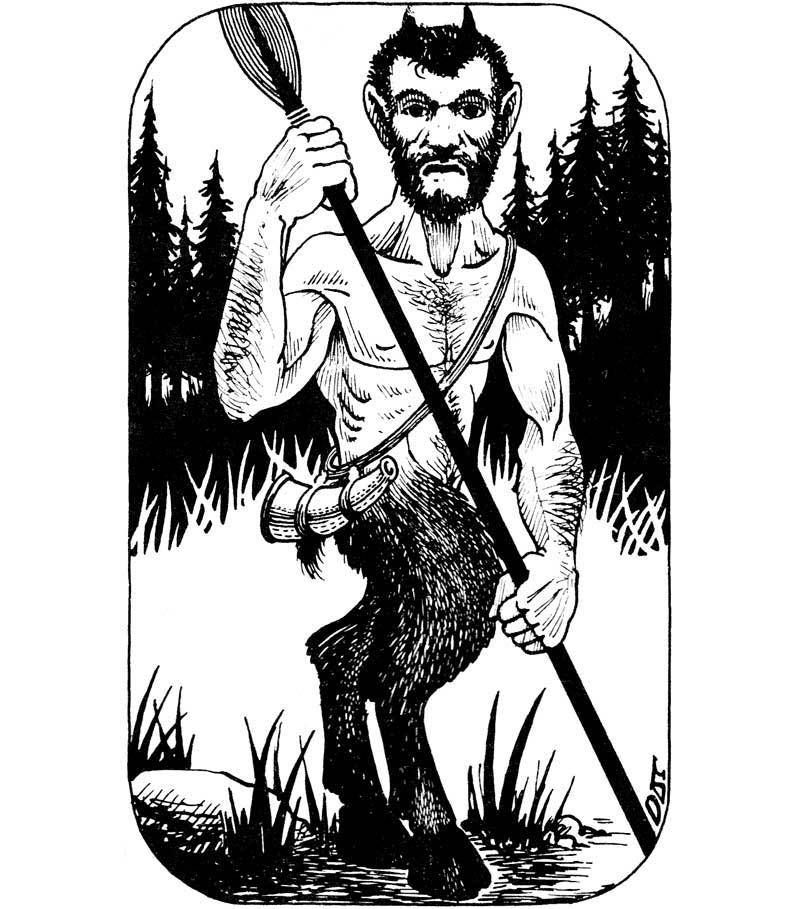 Image result for satyr 1st edition D&D