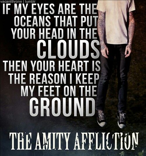 Pabst blue ribbon on ice-The Amity Affliction