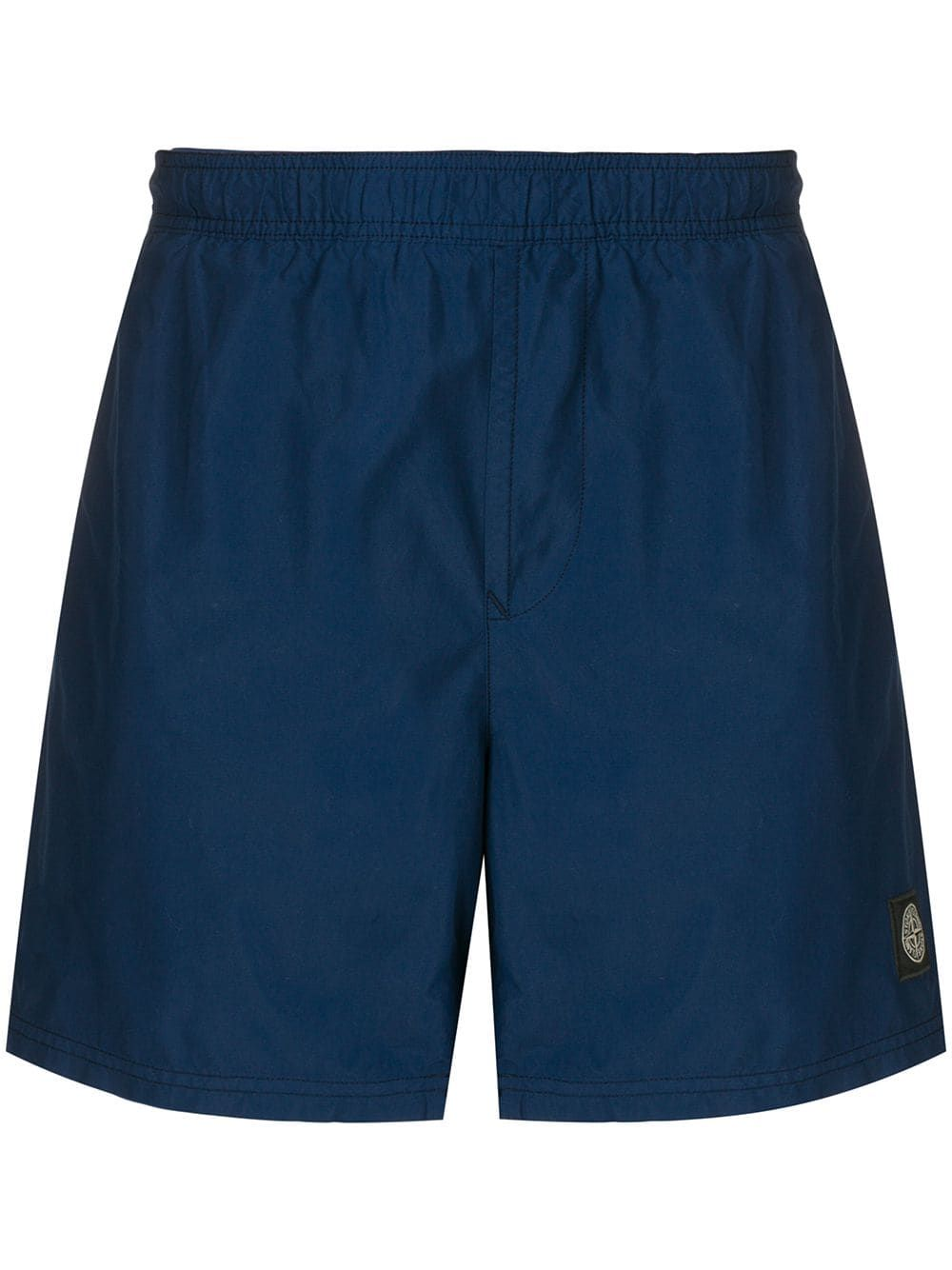 b715d82a91 Stone Island logo patch swim shorts - Blue in 2019 | Products ...