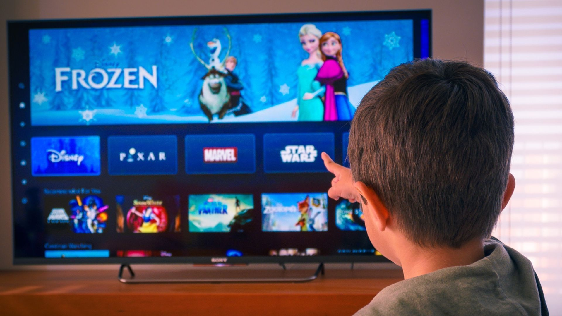 Only a handful of Smart TVs have Disney+ apps at the