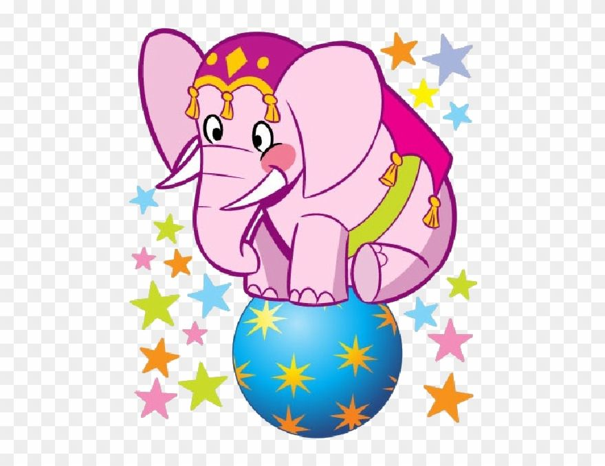 Elephant Cartoon Images Animated Circus Animals In Pink Clipart 45910 Is A Creative Clipart Downloa Elephant Cartoon Images Circus Animals Cartoon Images