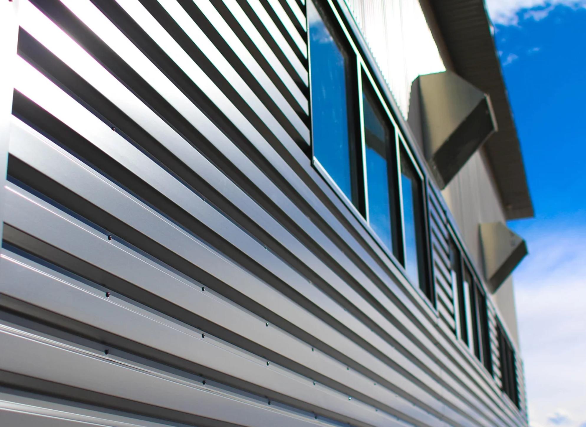 Box Rib Metal Siding Metal Siding Metal Panels Den Decor