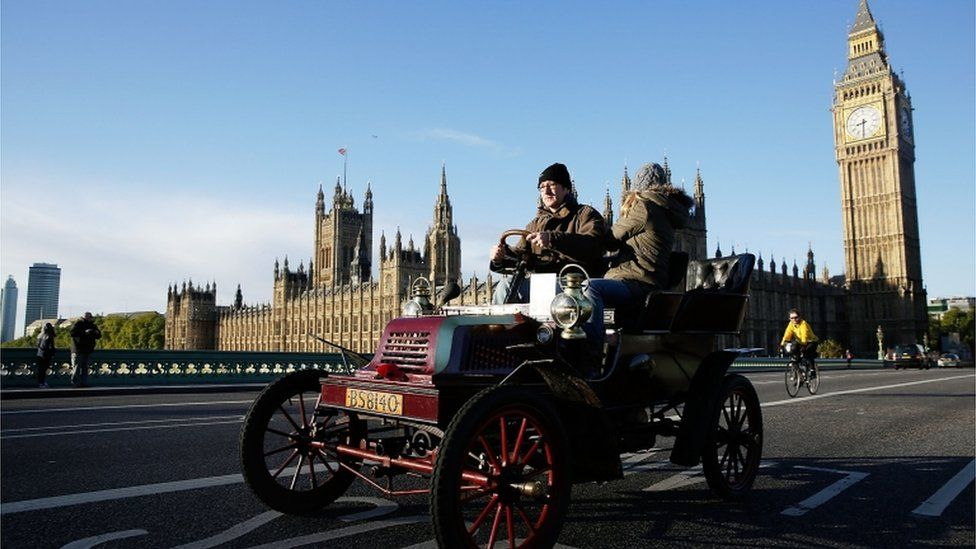 This is what makes us so quirky London to Brighton pre 1905 style!!!