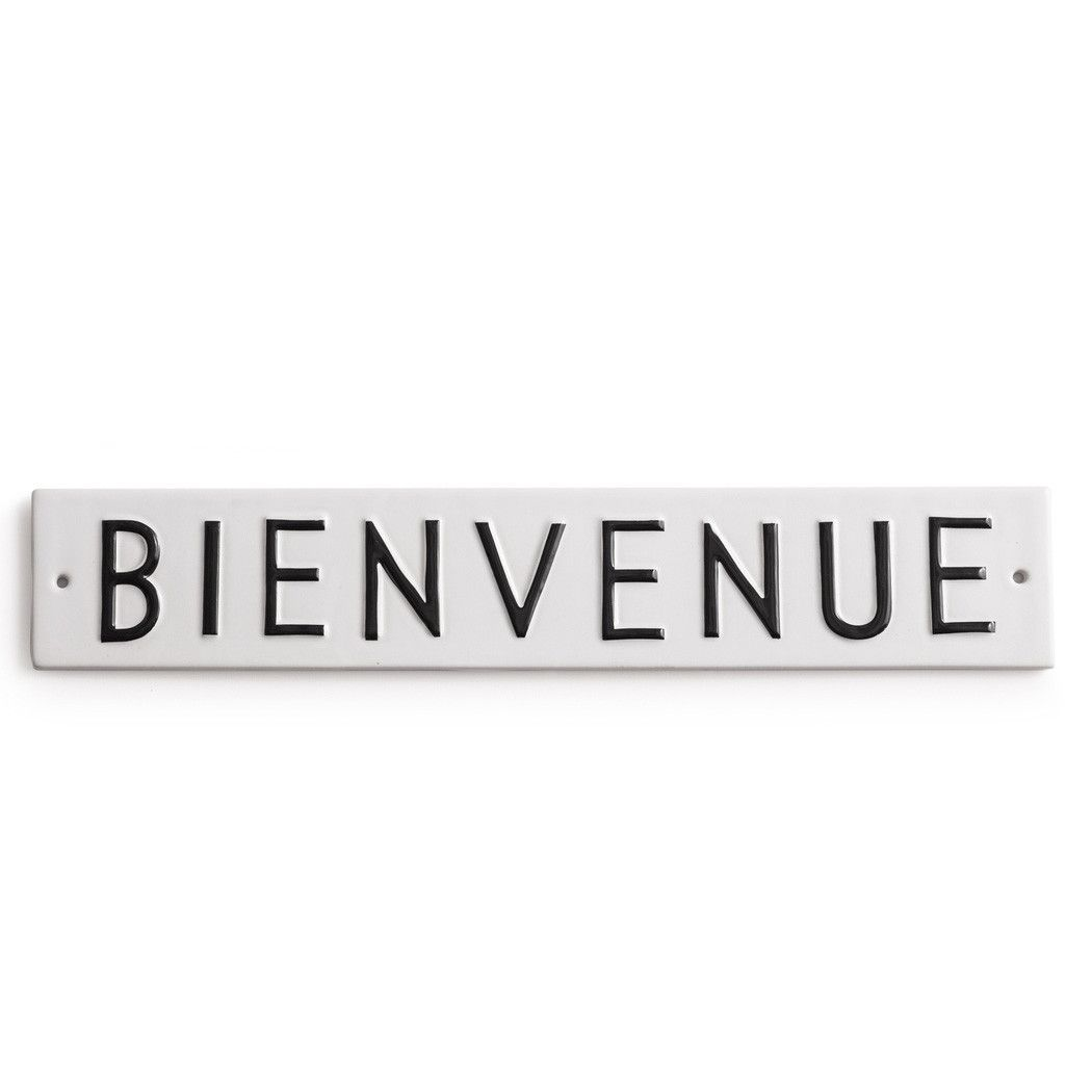 Word Play Bienvenue Sign | Word play and Products