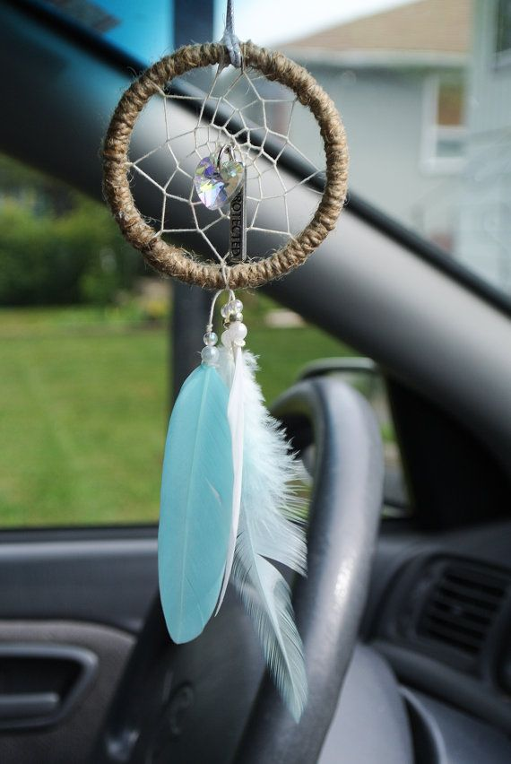 Small Dream Catchers For Sale Protected Car Dreamcatcher Rearview Mirror Accessory Boho 29