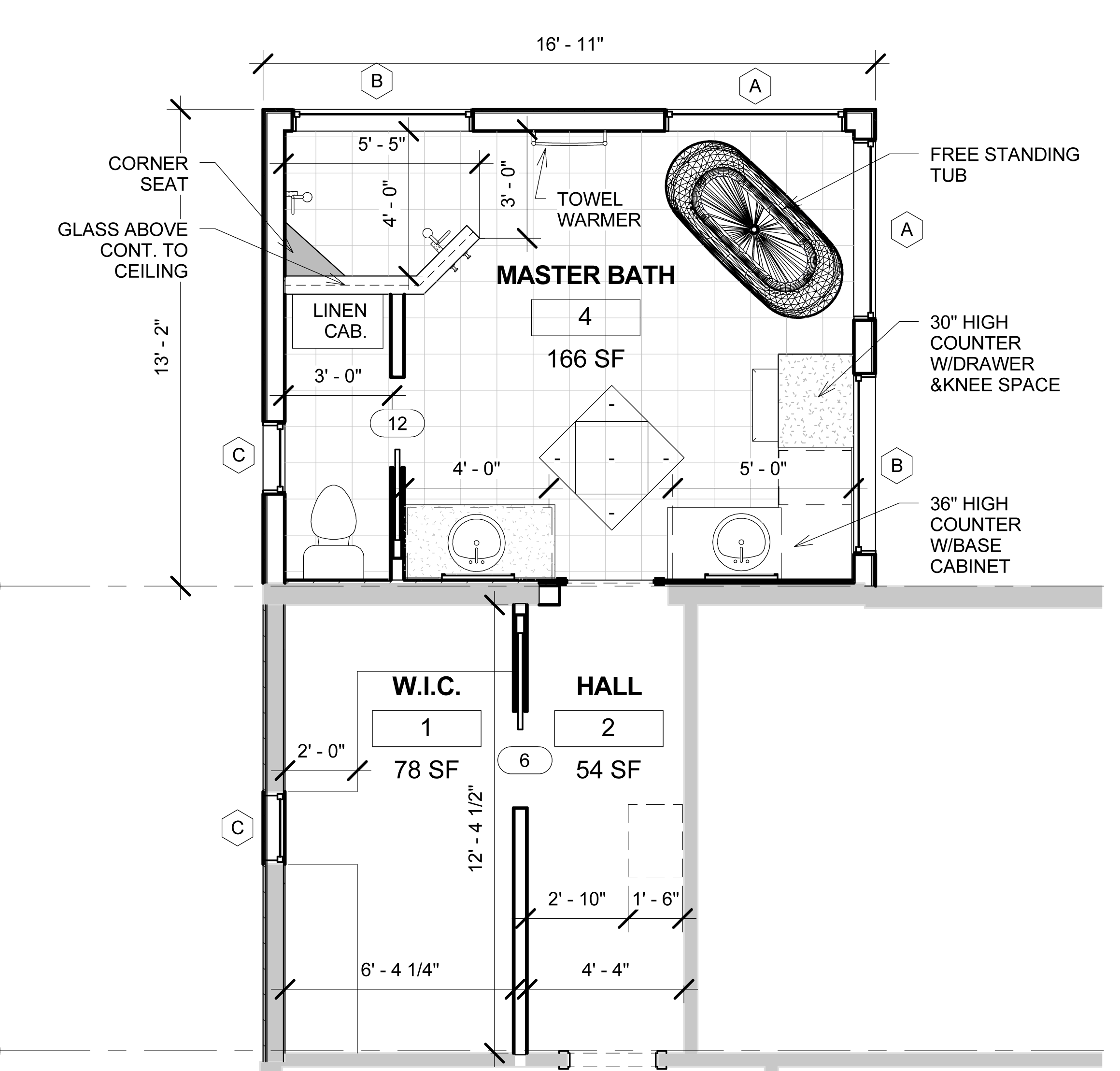 Bathroom Addition Plans #21: 1000+ Images About Baths On Pinterest | Bathroom Layout, Vanities And Closet Layout