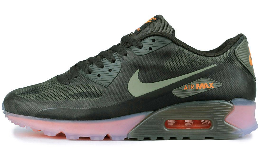 Nike Air Max 90 Ice Qs Rough Green Gr 46 Us 12 Patch Sp 718304 300 Ultra Moire Nike Air Max Nike Air Max 90 Air Max