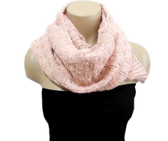 Scarf Knit weft Handmade weft Women Knitted Scarf by aynikki
