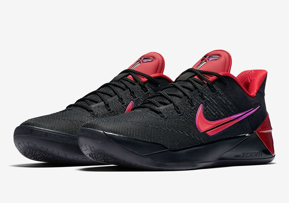 Nike Kobe AD Flip The Switch Black University Red 852425 004 Sz 7