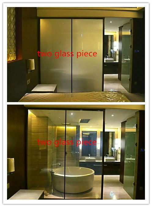 Switchable Glass For Bathroom Decoration On Clear Off Opaque From Clear To Opaque By A Simple Flick Of A Swi Smart Glass Bathroom Partitions Bathroom Decor