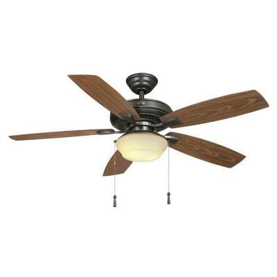 Hampton bay gazebo ii 52 in indooroutdoor natural iron ceiling fan hampton bay gazebo ii 52 in indooroutdoor natural iron ceiling fan with light kit aloadofball Choice Image