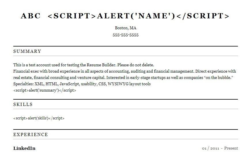 You can make beautiful, printable resumes with LinkedIn Job info - linkedin resume builder