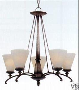 Lighting Chandelier Light Fixture Pendant Ceiling Quoizel