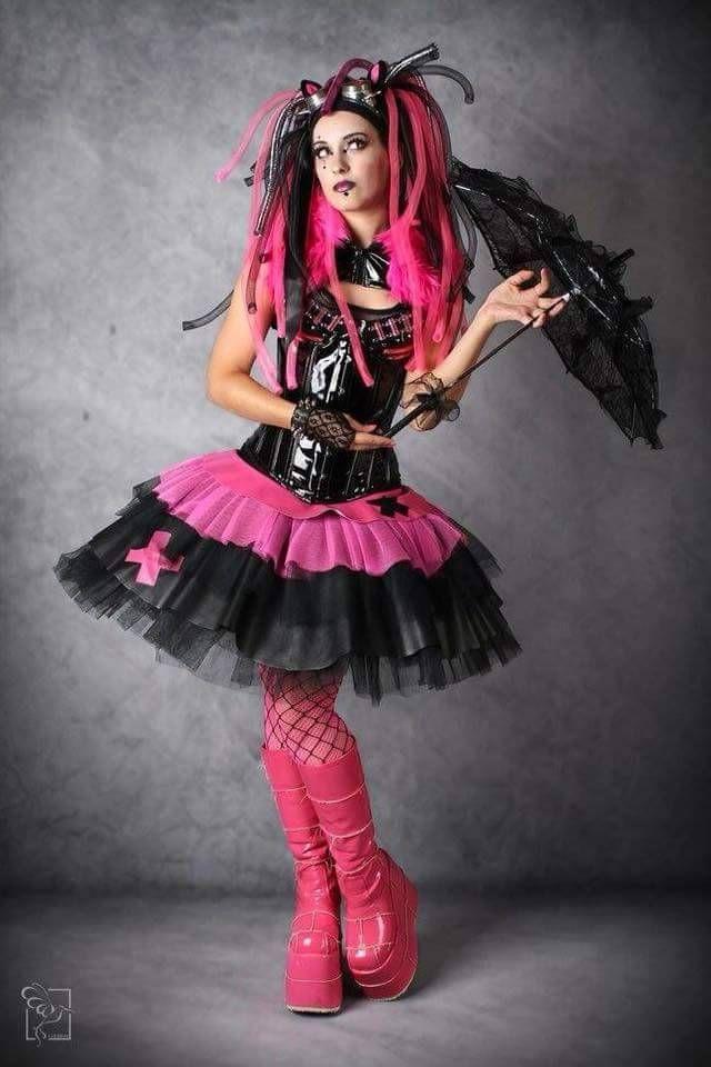Goth cyber cybergoth